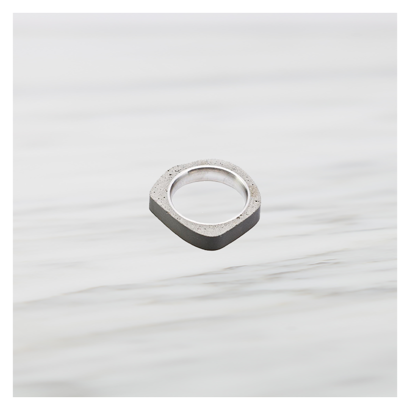 22 DESIGN STUDIO Concrete Ring - Round Thin | the OBJECT ROOM