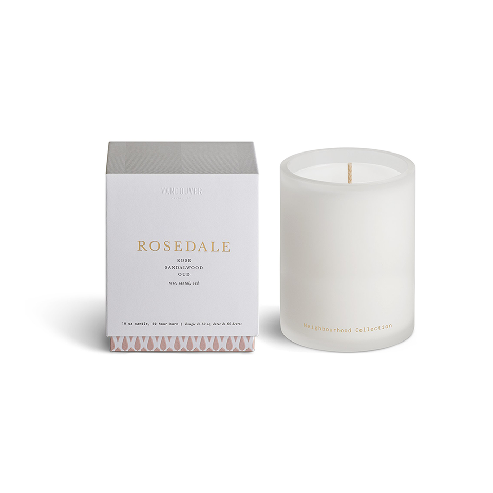 VANCOUVER CANDLE CO. Neighbourhood Collection Single Wick Candle - ROSEDALE
