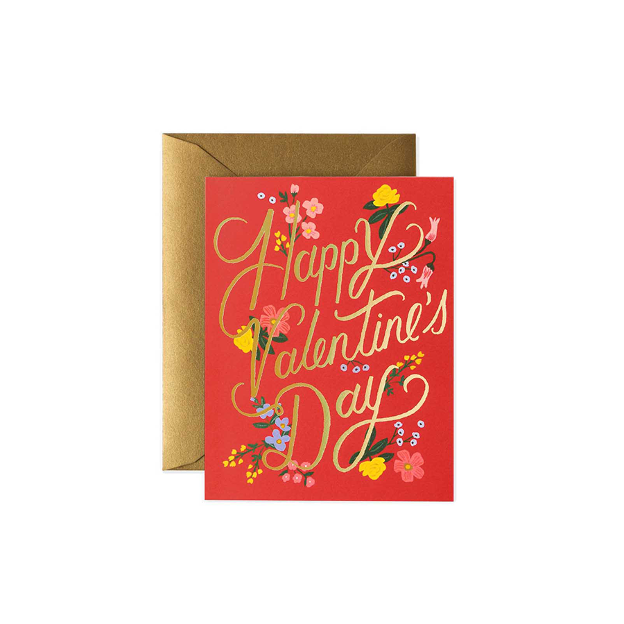 RIFLE PAPER CO. Card - Rouge Valentines Day