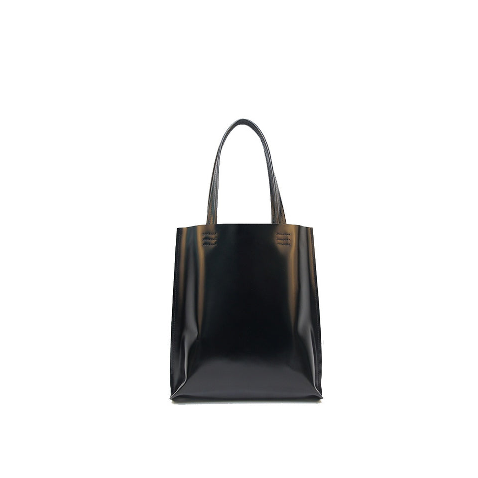 GOODJOB Tote Bag MONO S - Leather Black