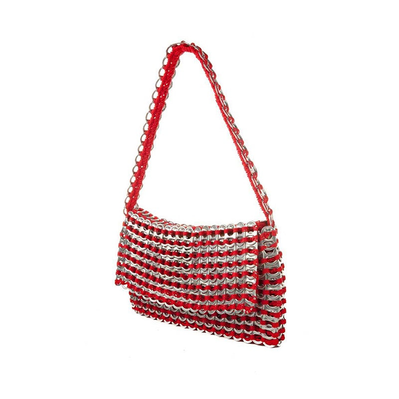 ESCAMA STUDIO Francisca Clutch Bag - Red