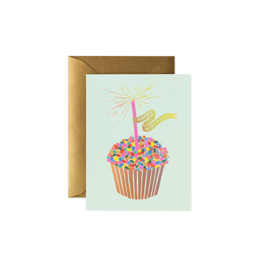 RIFLE PAPER CO. Card - Cupcake Birthday