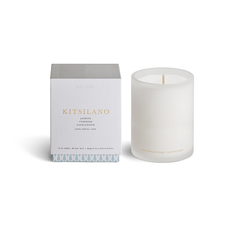 VANCOUVER CANDLE CO. Neighbourhood Collection Single Wick Candle - KITSILANO