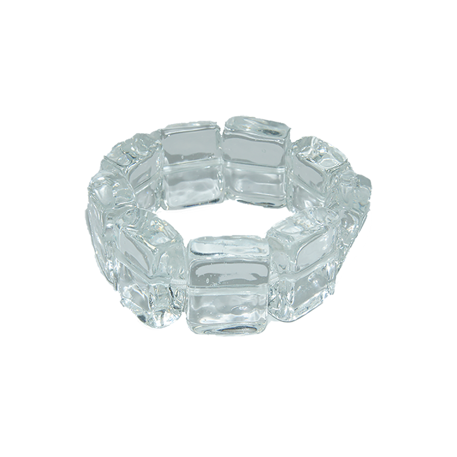 MARINA E SUSANNA SENT Glass Bracelet - Ghiaccio Crystal | the OBJECT ROOM