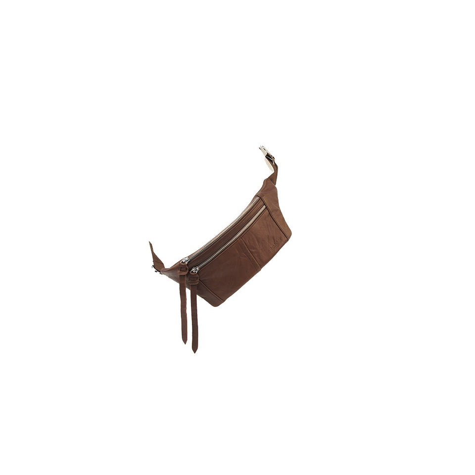 THE REMAKER Leather Cross-Body Bag - Paris Brown Limited Edition