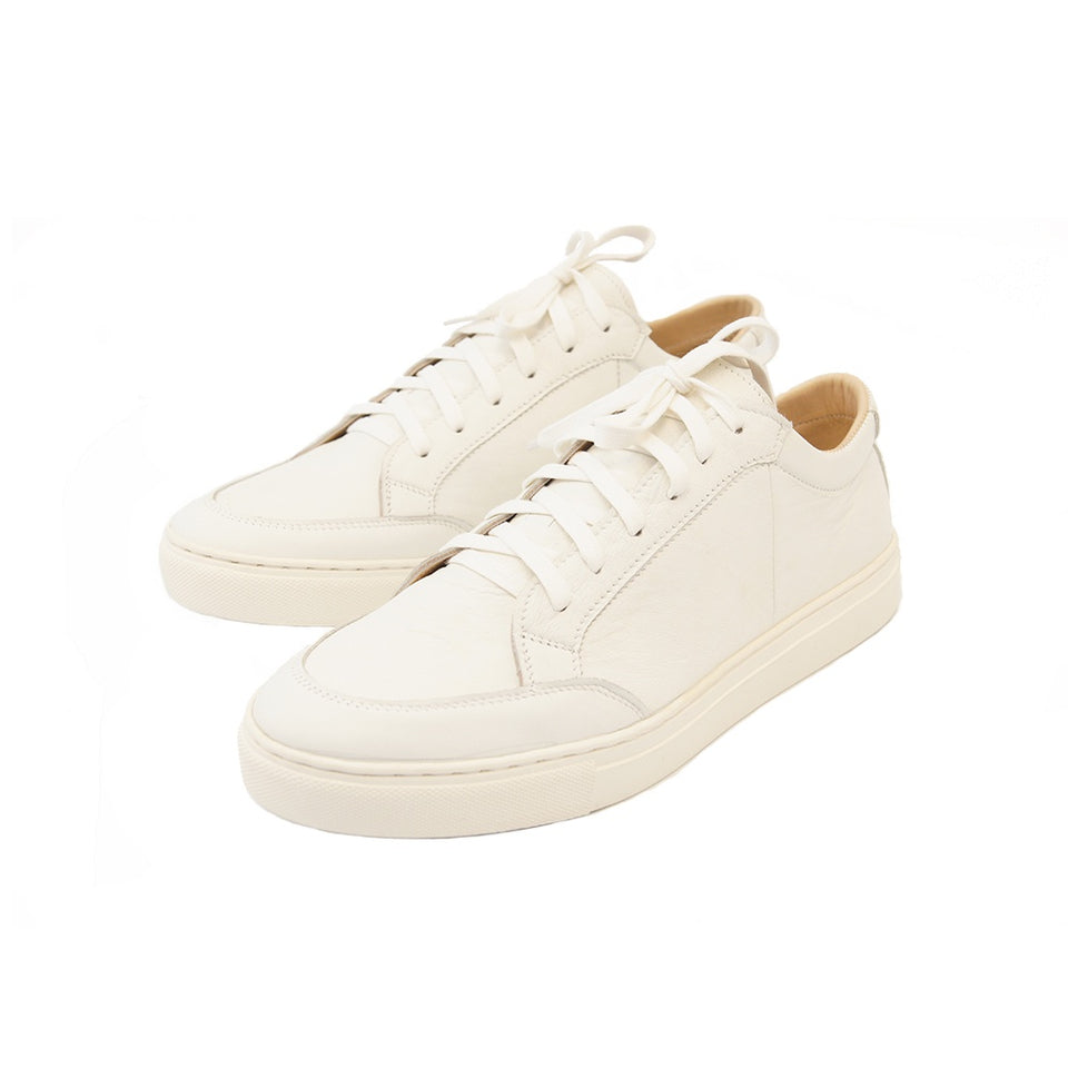 THE REMAKER Leather Sneakers - Bangkokian White