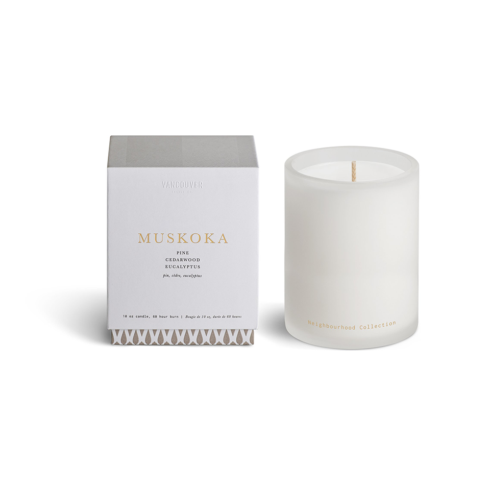 VANCOUVER CANDLE CO. Neighbourhood Collection Single Wick Candle - MUSKOKA