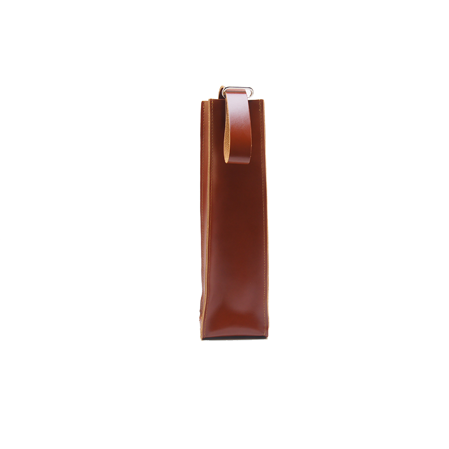 GOODJOB Wine Holder Bag Towering - Leather Tan