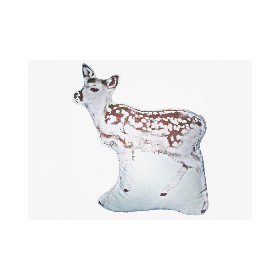 AREAWARE Fauna Large Cushion Fawn - Brown