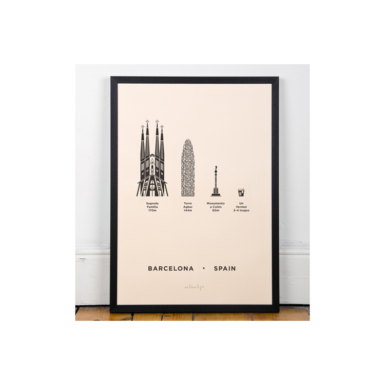 ME&HIM&YOU ME Screen Print - Barcelona | the OBJECT ROOM
