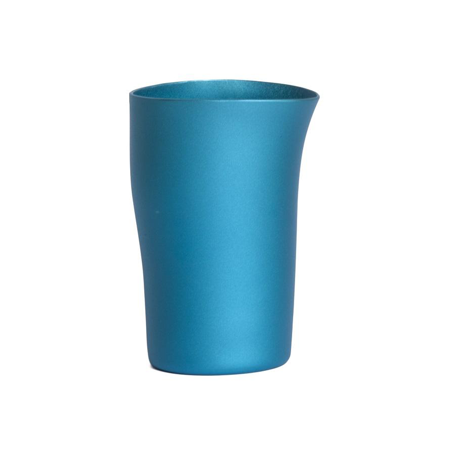 FINK Aluminium Beaker - Matt Turquoise | the OBJECT ROOM