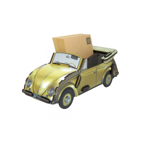 WERKHAUS Photo Note Box Beetle - Gold | the OBJECT ROOM