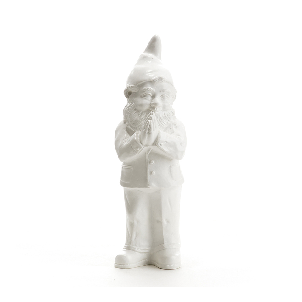 OTTMAR HÖRL Ben the Praying Gnome - White | the OBJECT ROOM