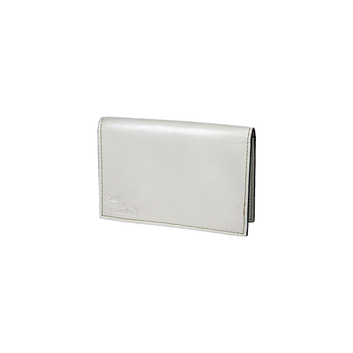 CRAFT DESIGN TECHNOLOGY Leather Business Card Case - White | the OBJECT ROOM