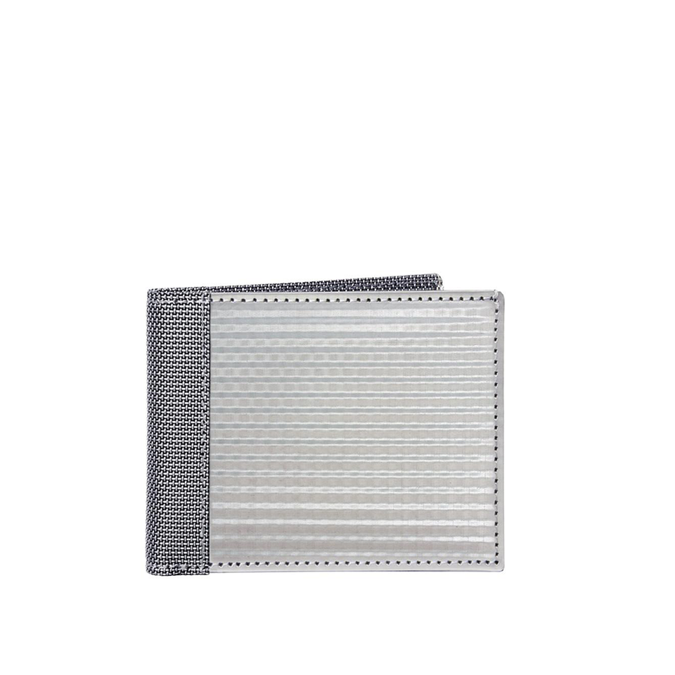STEWART/STAND Stainless Steel Wallet - Bill Fold Checkered Silver | the OBJECT ROOM