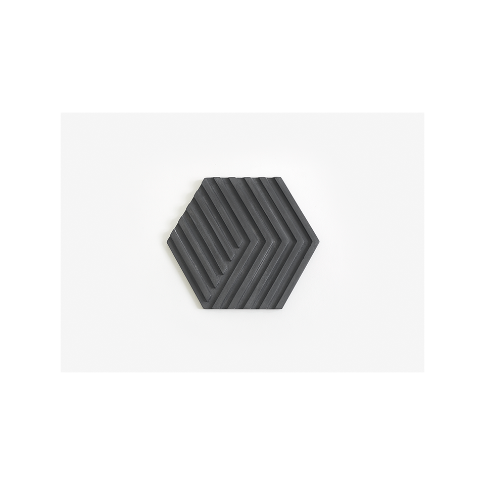 AREAWARE AW Table Tile Trivet - Black | the OBJECT ROOM
