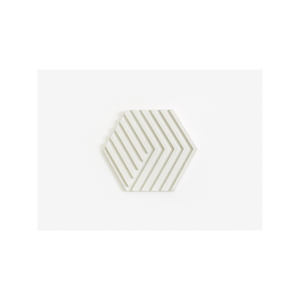 AREAWARE AW Table Tile Trivet - White | the OBJECT ROOM