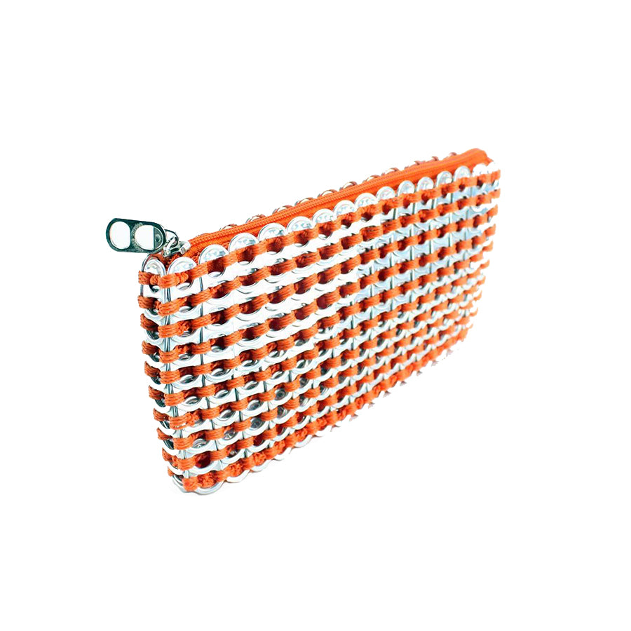 ESCAMA STUDIO Chica Rosa Clutch - Orange
