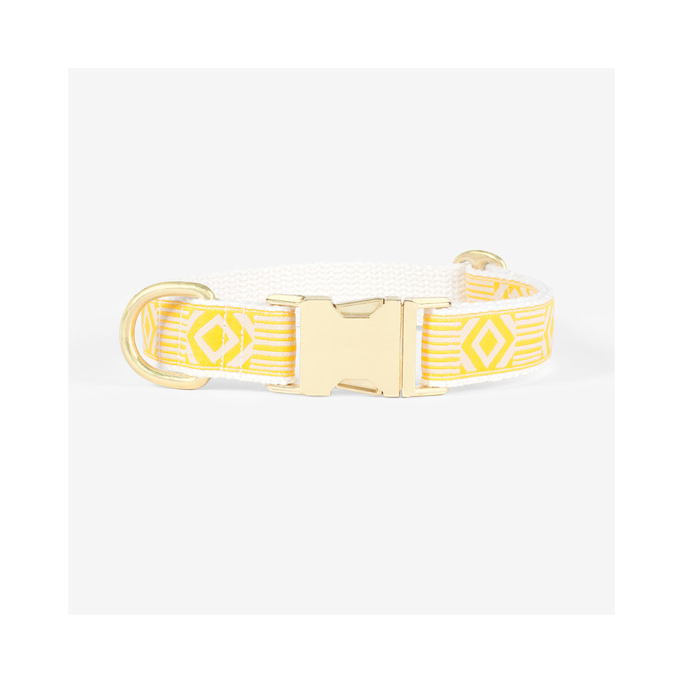 "SEE SCOUT SLEEP Collar 1"" Out of Box - Marigold x Cream 