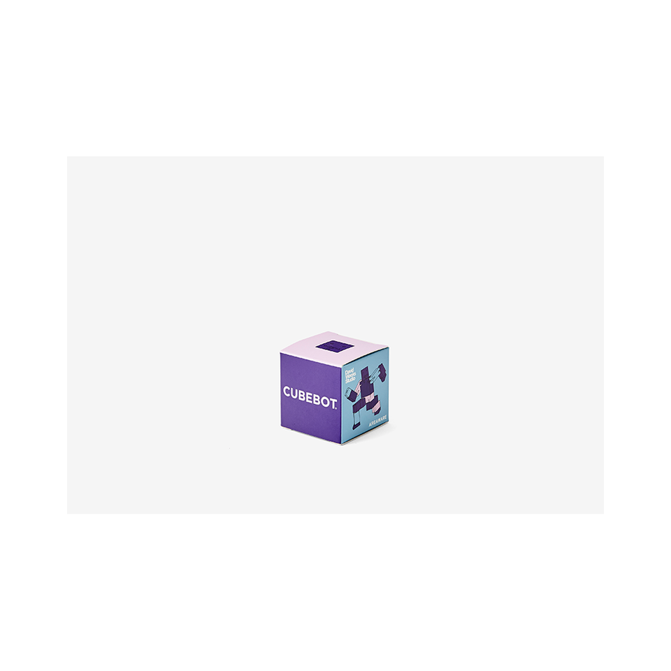 AREAWARE Cubebot Micro - Purple Multi