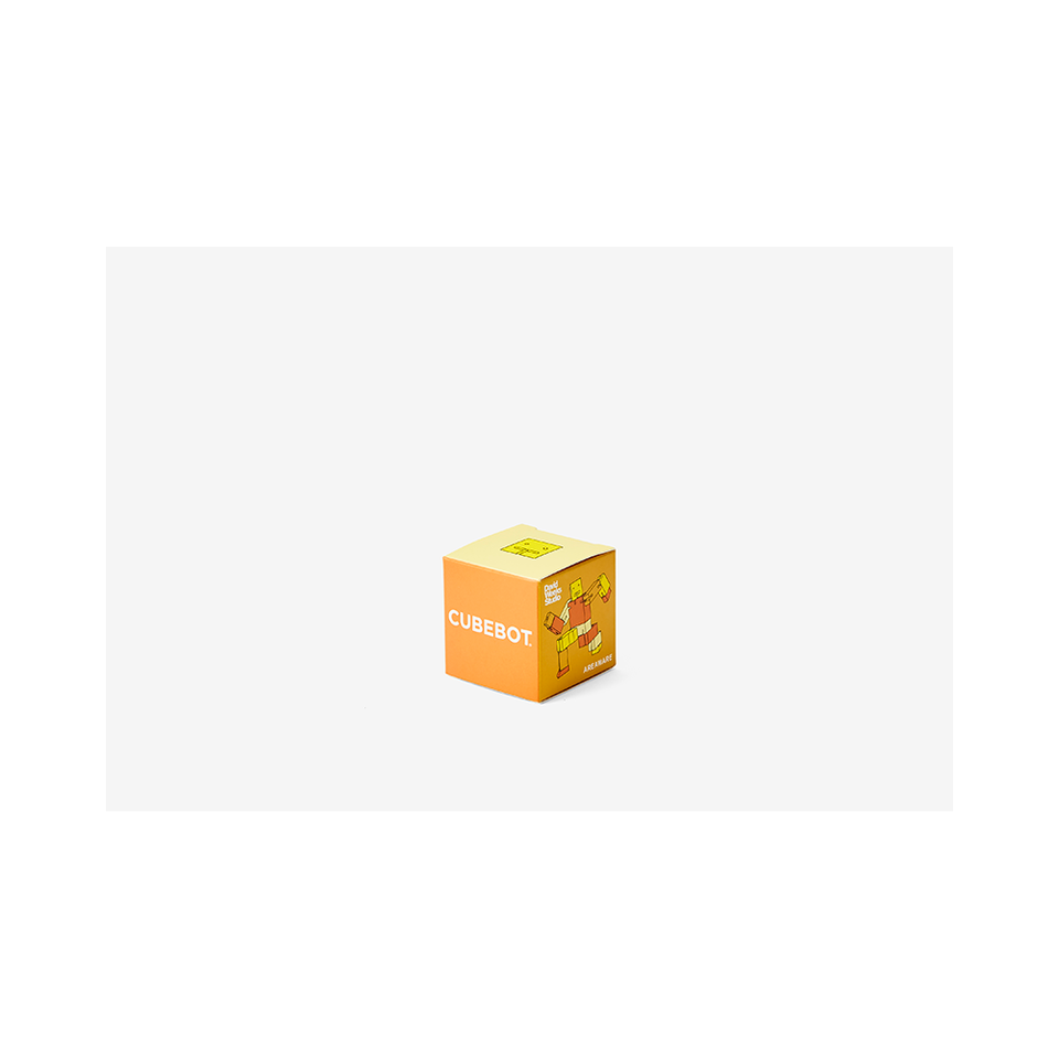 AREAWARE Cubebot Micro - Yellow Multi