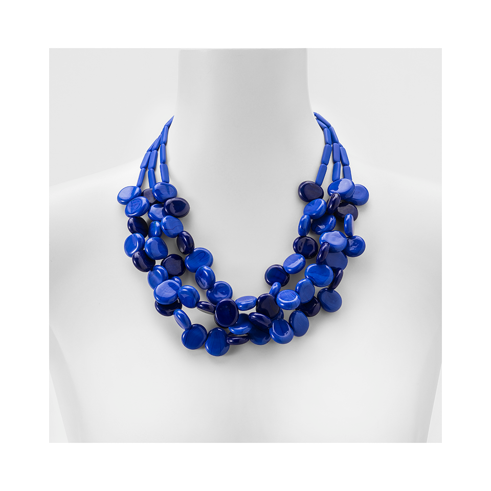 MARINA E SUSANNA SENT Glass Necklace - Delia Blue Lapis | the OBJECT ROOM