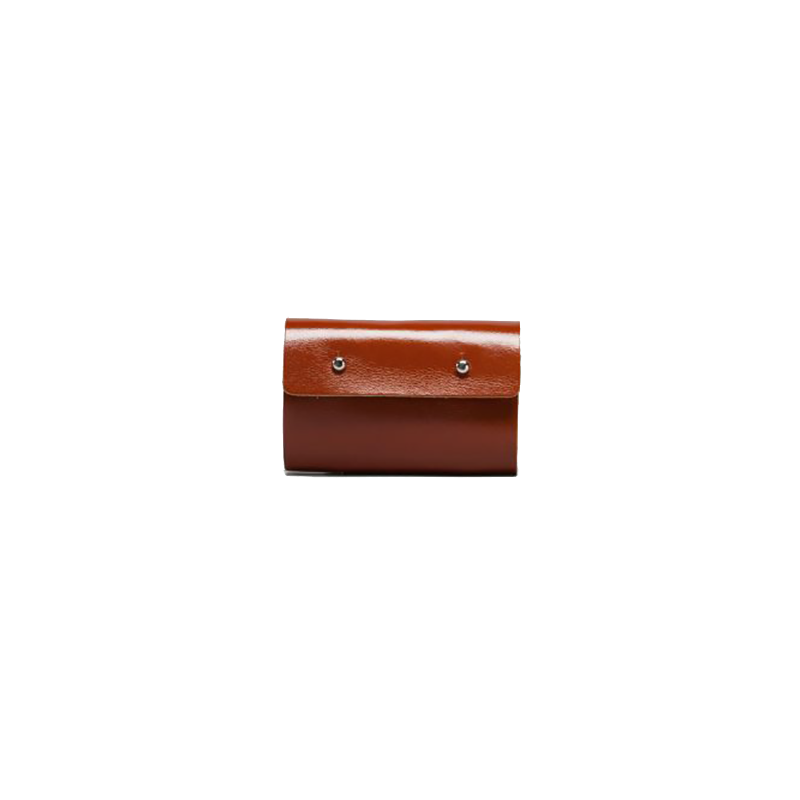 GOODJOB Card Holder 10 Dots - Leather Tan | the OBJECT ROOM