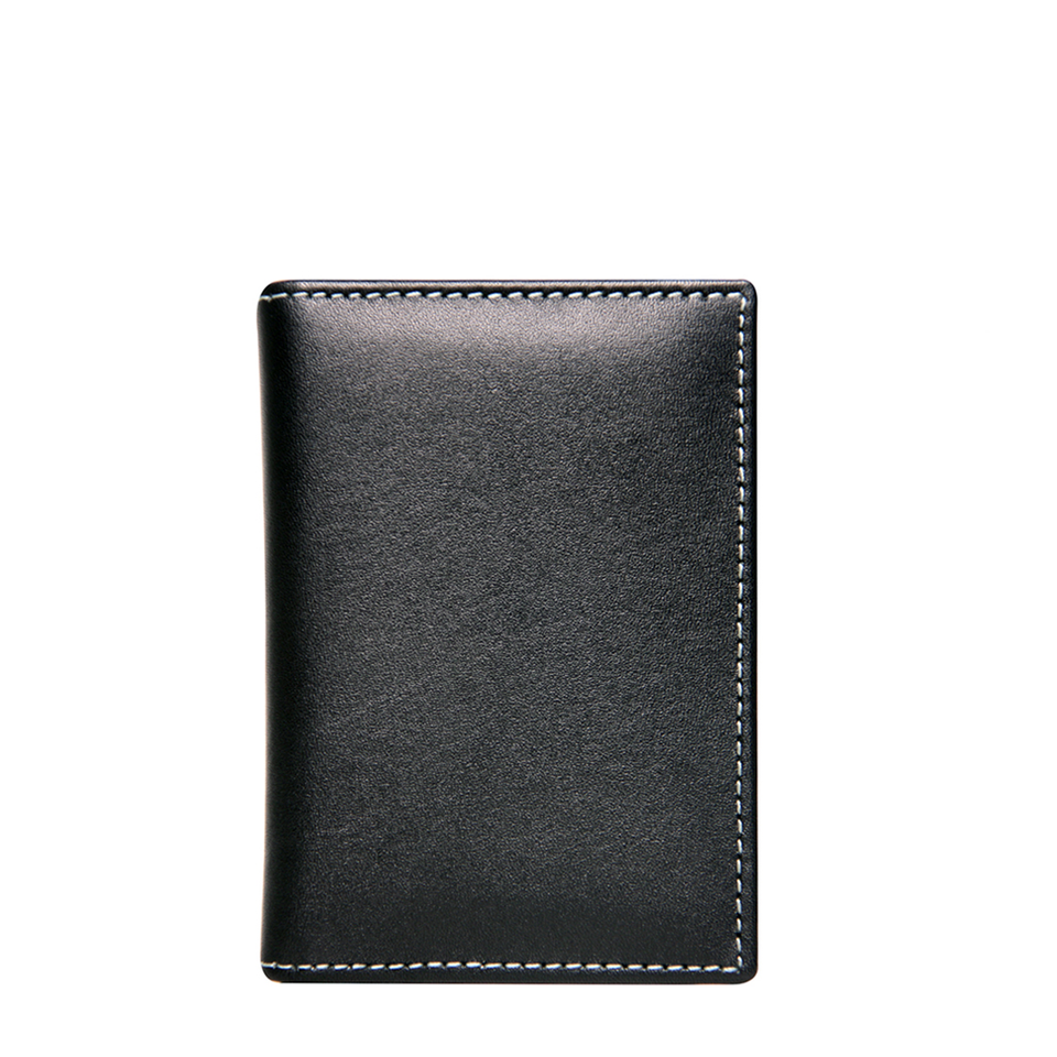STEWART/STAND Leather SS Driving Wallet - Black | the OBJECT ROOM