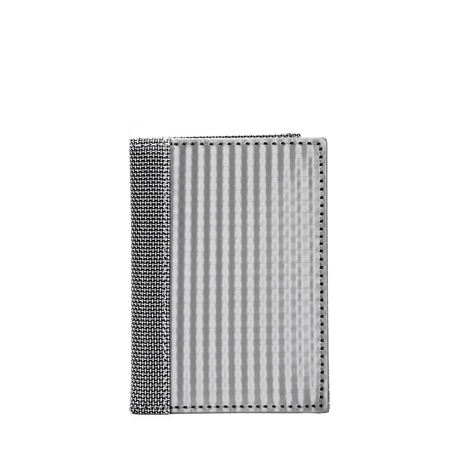 STEWART/STAND Stainless Steel Driving Wallet - Checkered
