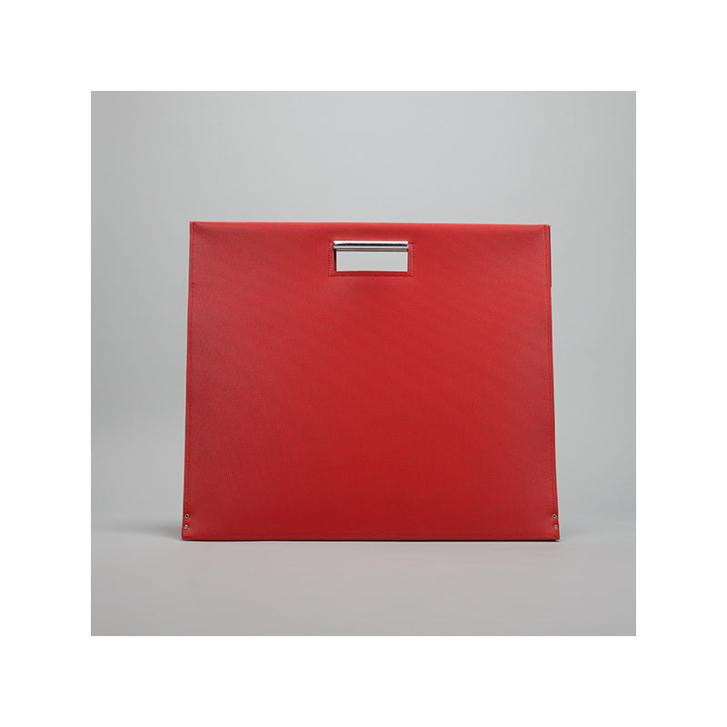 GOODJOB Document Bag A3 Flat - PVC Red - the OBJECT ROOM