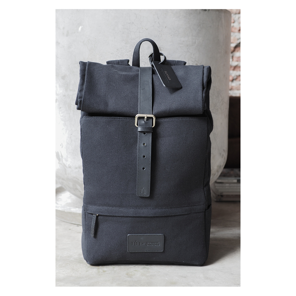 NIN LIFESTYLE The Garfors Backpack - Ink Black | the OBJECT ROOM