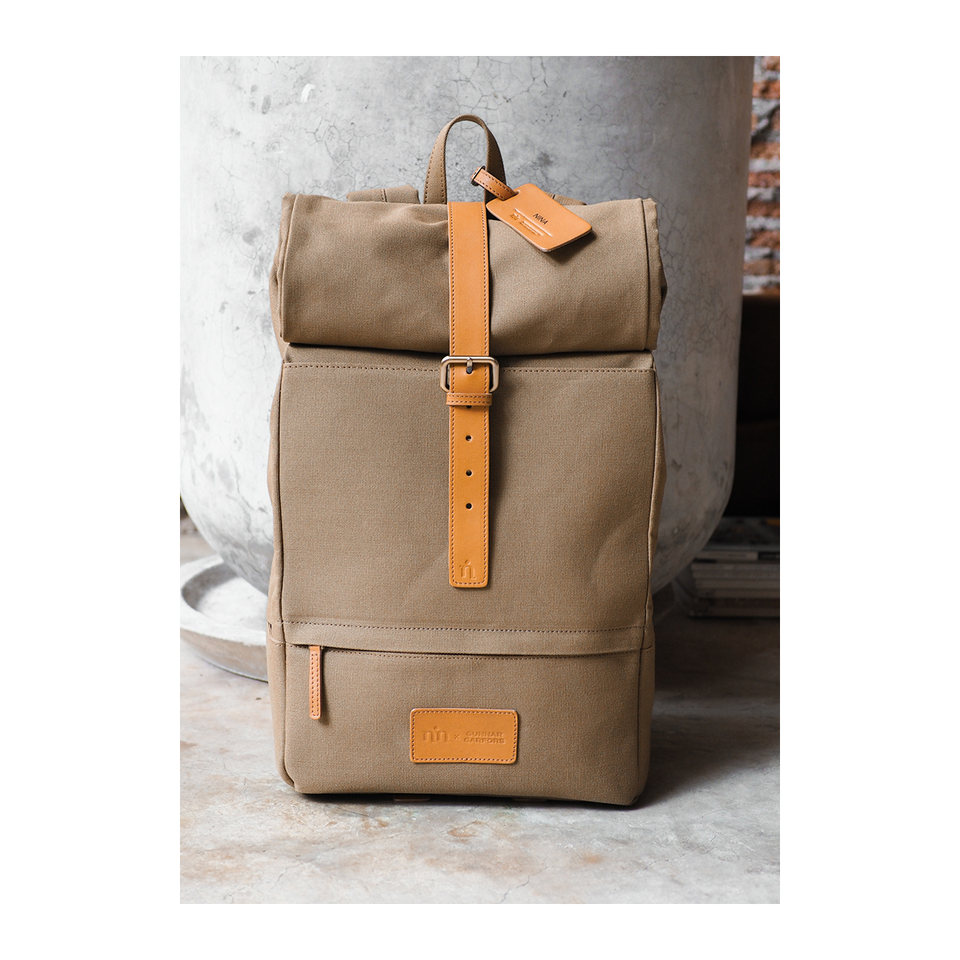 NIN LIFESTYLE The Garfors Backpack - Desert Brown | the OBJECT ROOM