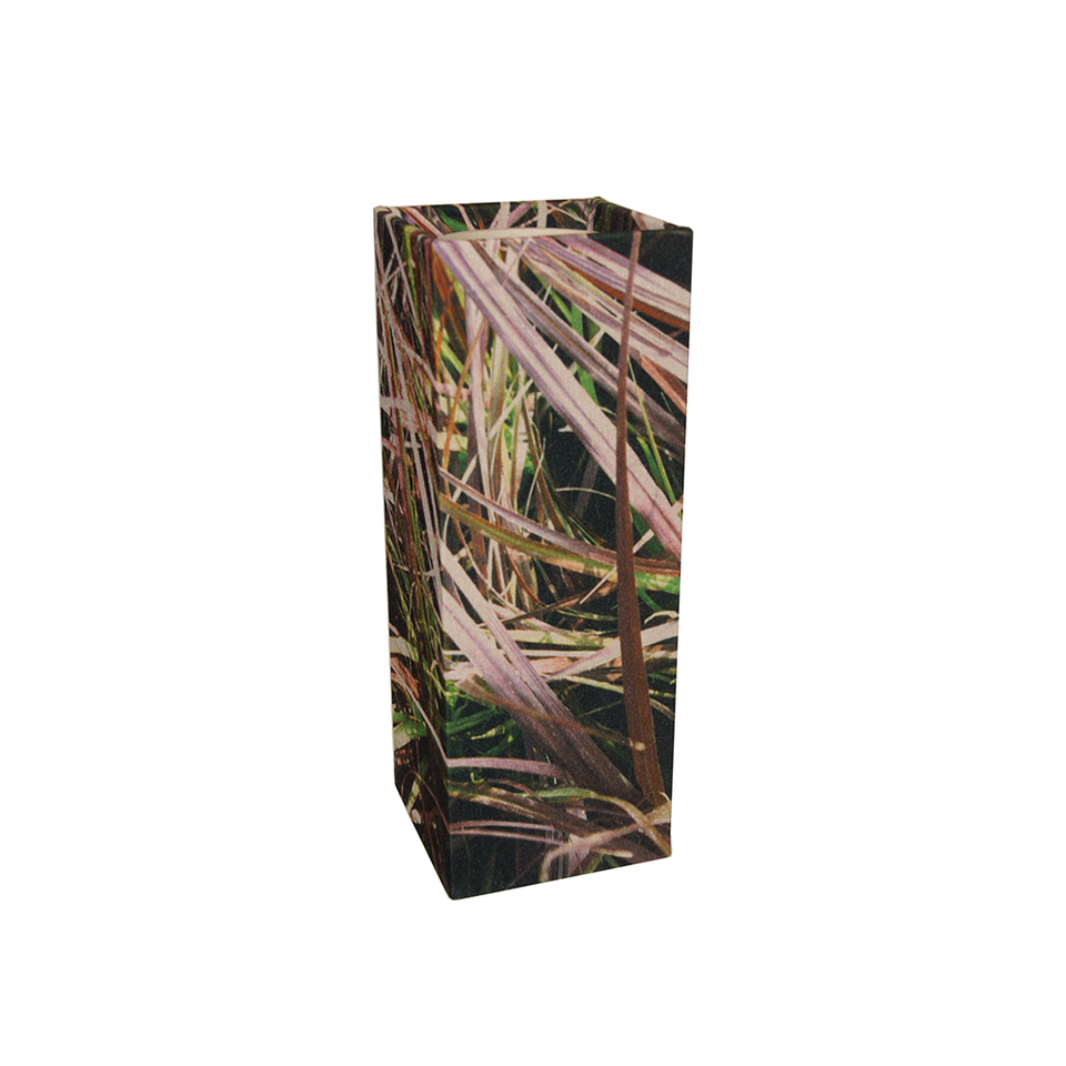 GILLES CAFFIER Polyester Cubic Vase Large - Grasses | the OBJECT ROOM