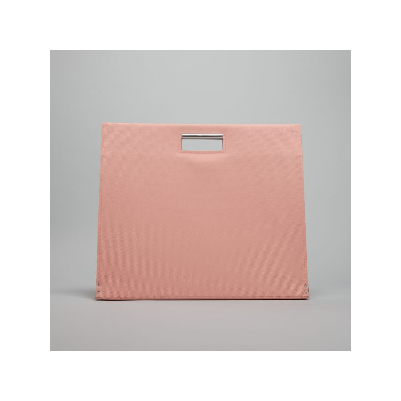 GOODJOB Document Bag A3 Flat - PVC Pink | the OBJECT ROOM