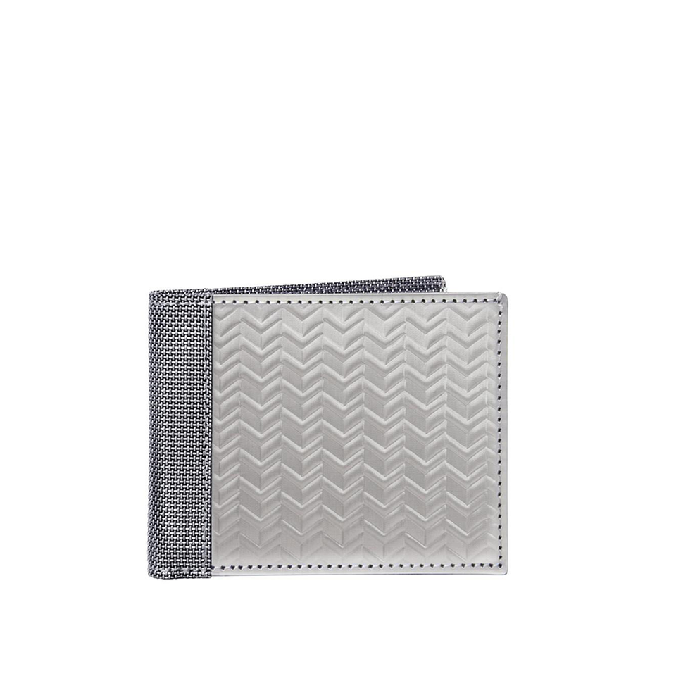 STEWART/STAND Stainless Steel Wallet - Bill Fold Herringbone - the OBJECT ROOM