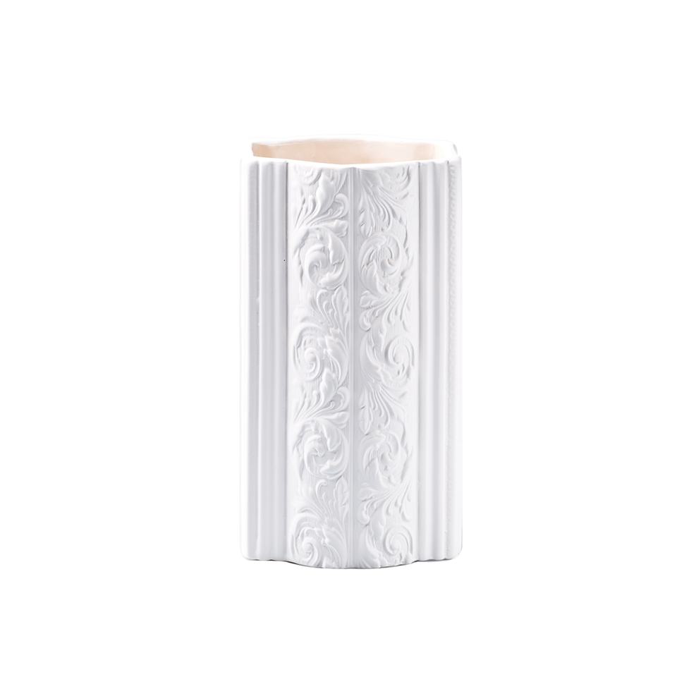 KIDDEE TAMDEE Louise Vase Small - White | the OBJECT ROOM