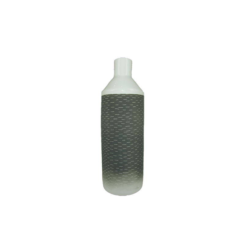 ISMAËL CARRÉ Large Bottle Vase - Black | the OBJECT ROOM