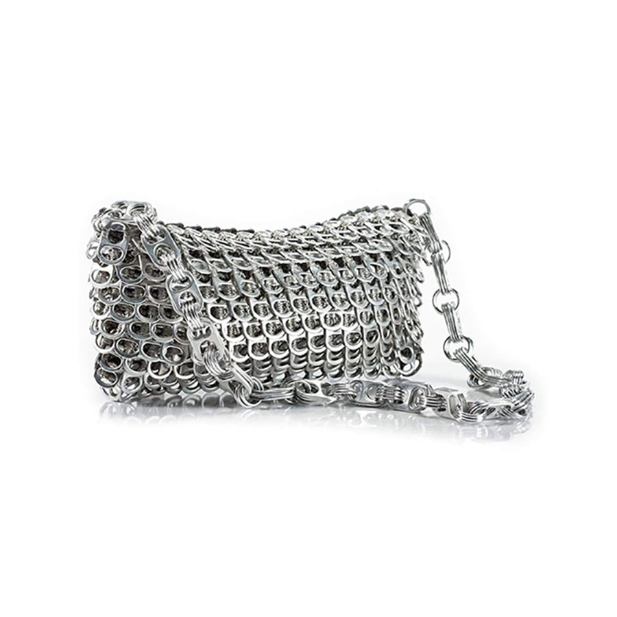 ESCAMA STUDIO Lenilda Evening Bag - Silver