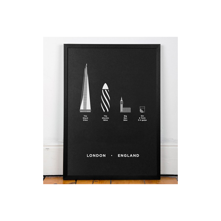 ME&HIM&YOU Screen Print - London Limited Edition | the OBJECT ROOM