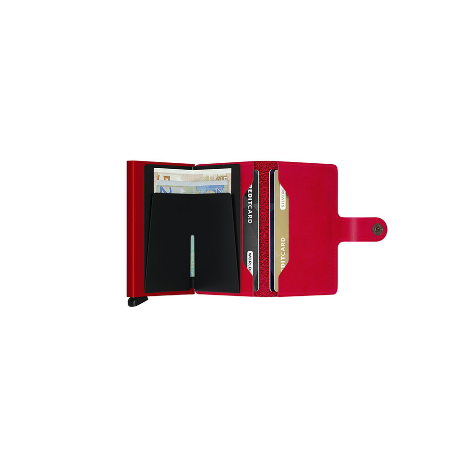 SECRID SC Miniwallet Leather - Original Red/Red - the OBJECT ROOM - Bangkok, Thailand