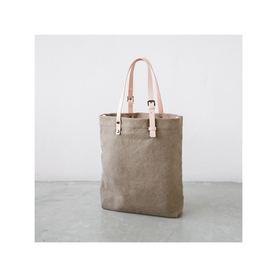 NIN LIFESTYLE NL The Steinbeck Tote - Mocha Brown | the OBJECT ROOM