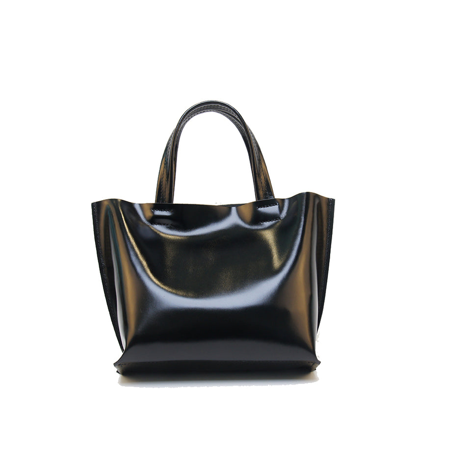 GOODJOB Handbag MONO XS - Leather Black