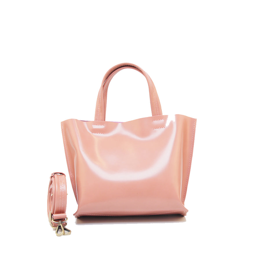 GOODJOB Handbag MONO XS - Leather Pink
