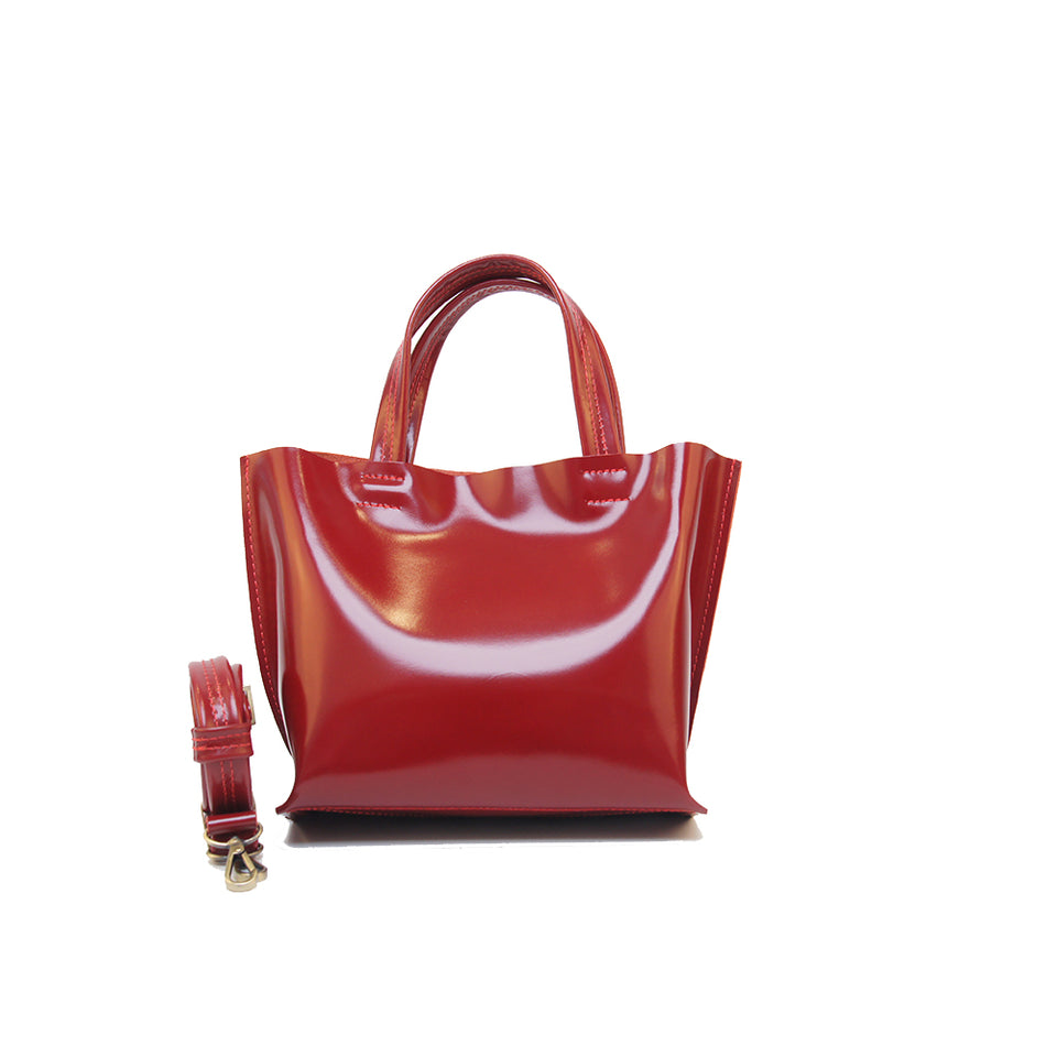 GOODJOB Handbag MONO XS - Leather Red