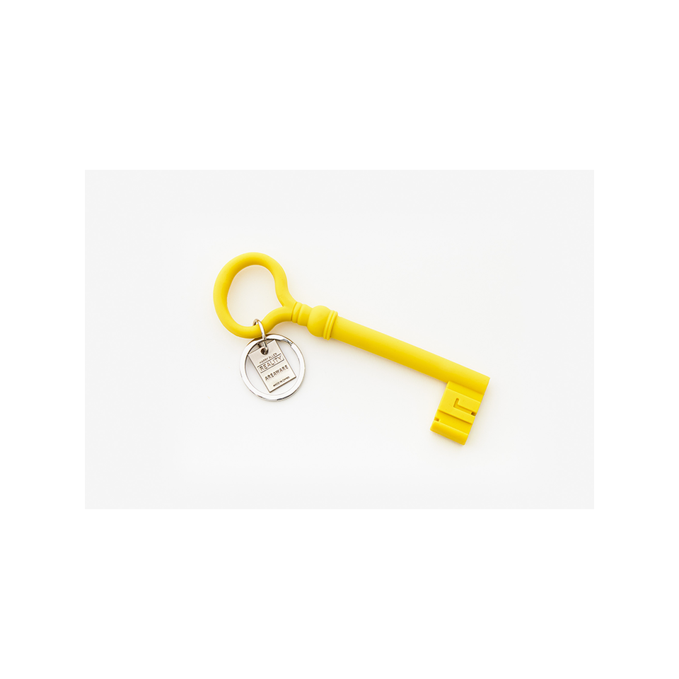 AREAWARE AW Key Keychain - Mustard | the OBJECT ROOM