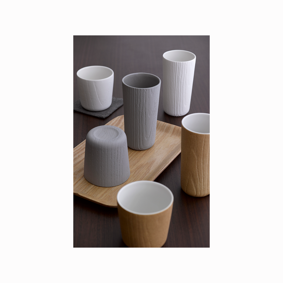 TOAST LIVING TO MU Tea Cup Grey - Set of 2 - the OBJECT ROOM - Bangkok, Thailand