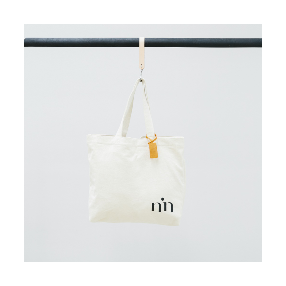 NIN LIFESTYLE The Neruda Tote - Simply White | the OBJECT ROOM