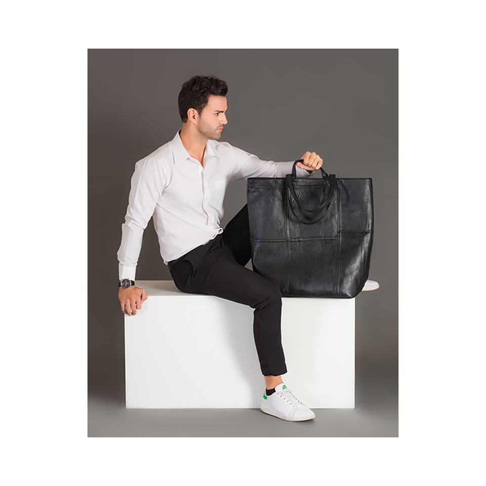 THE REMAKER Leather Bag - New Yorker L