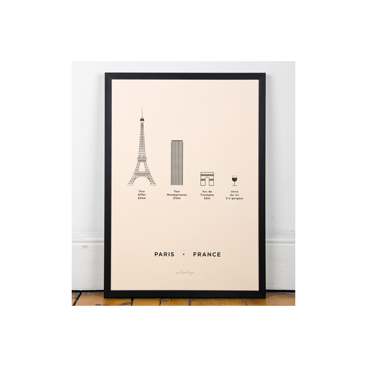 ME&HIM&YOU Screen Print - Paris - the OBJECT ROOM