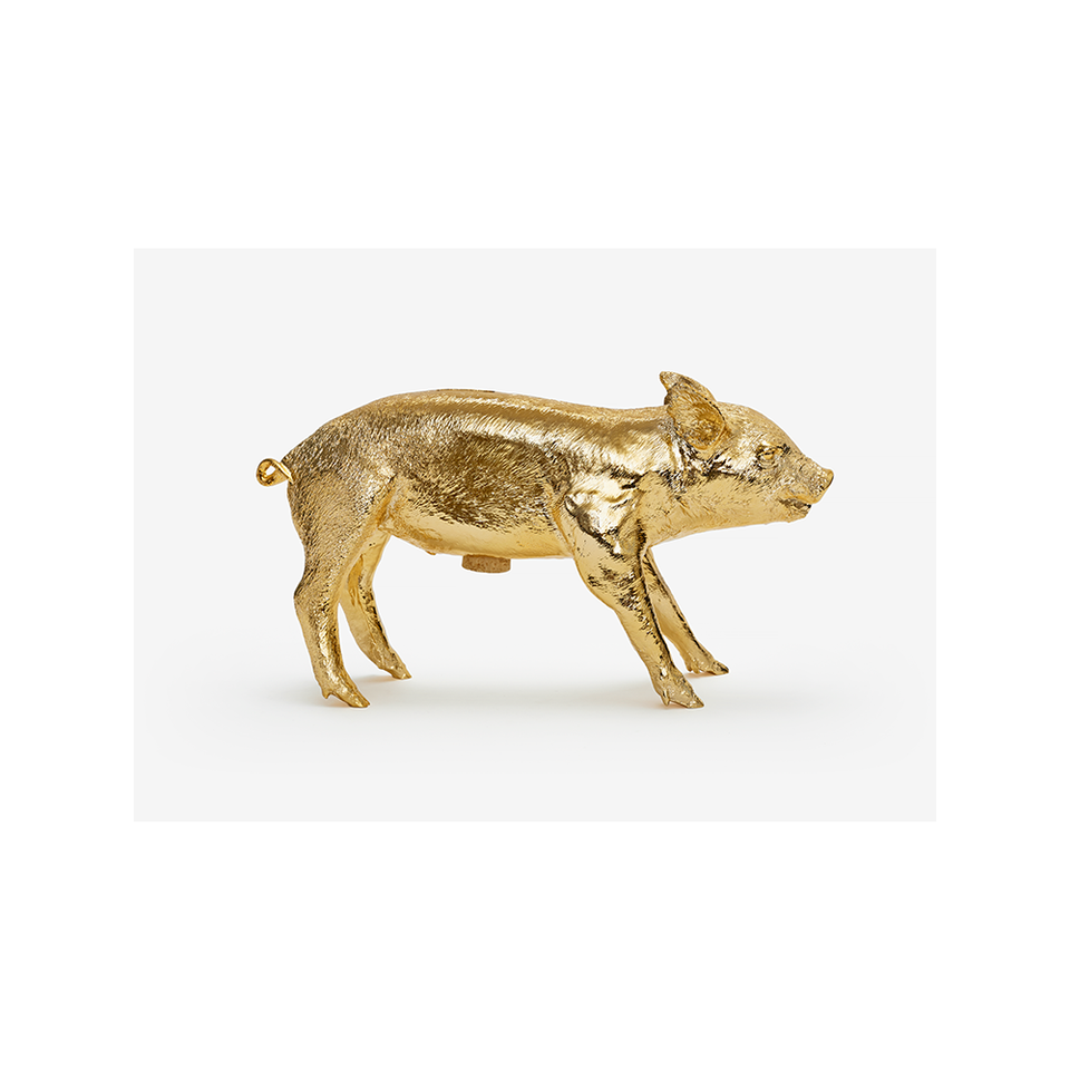AREAWARE Bank in the Form of a Pig - Gold | the OBJECT ROOM